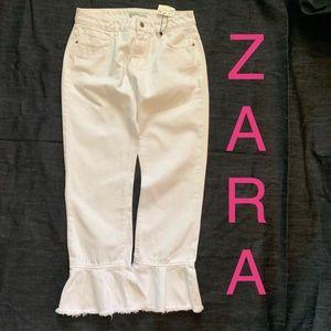 NWT Zara Flare bottom jeans